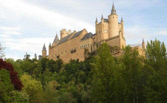 Alcazar Castle - Segovia, Spain