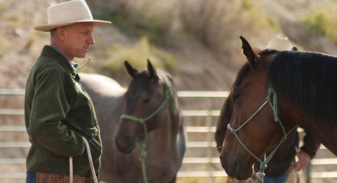 Buck Brannaman is an animal lover who teaches people about life in one of 2011's top films, Buck.