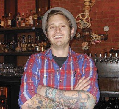 Dustin keeps bar at URBN.