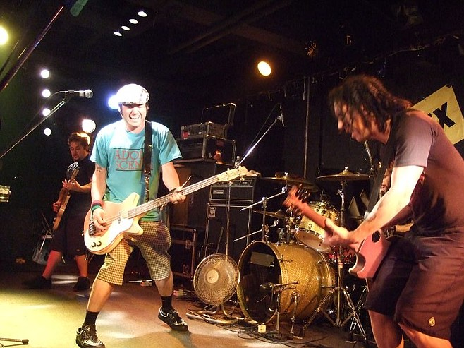 NOFX checks into House of Blues Monday and Tuesday night.