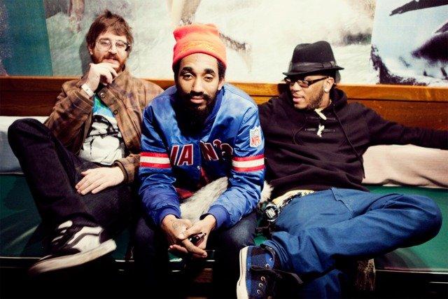 Brooklyn trip-hop trio Ninjasonic's at Soda Bar Wednesday.