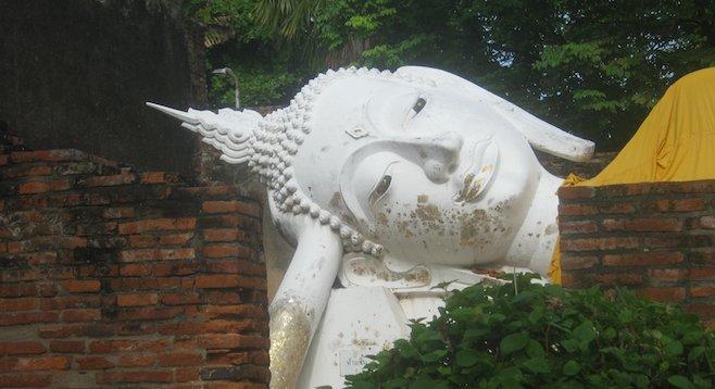 Ayutthaya's Reclining Buddha