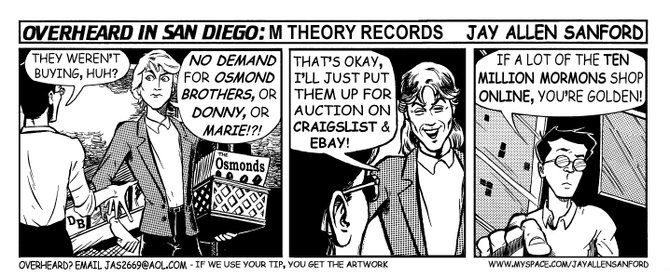 M Theory Records
