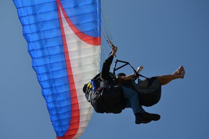 Hang Gliders at Blacks Beach.