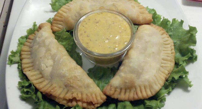 Natchitoches Meat Pies with Cajun Mustard Aioli