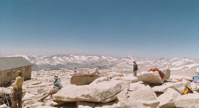 The summit of Mt. Whitney - finally