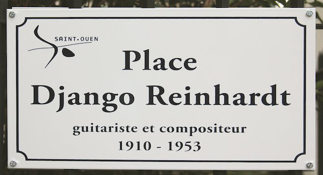 Paris's Saint-Ouen neighborhood renamed a square in Reinhardt's honor
