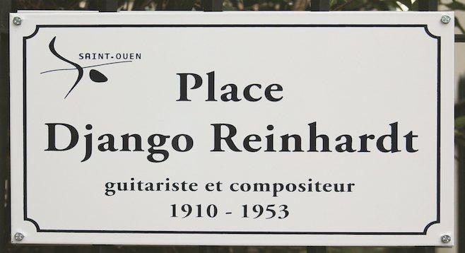 Paris's Saint-Ouen neighborhood renamed a square in Reinhardt's honor