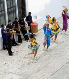 Dancers on the sidewalk, Recife Brazil. In Recife Pernambuco their is a unique style of ...