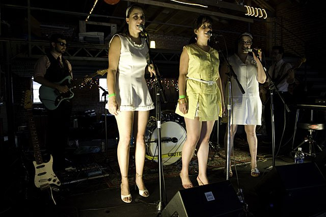 Soda Bar stages the she-bop do-wop Damselles and the TC4 on Sunday.
