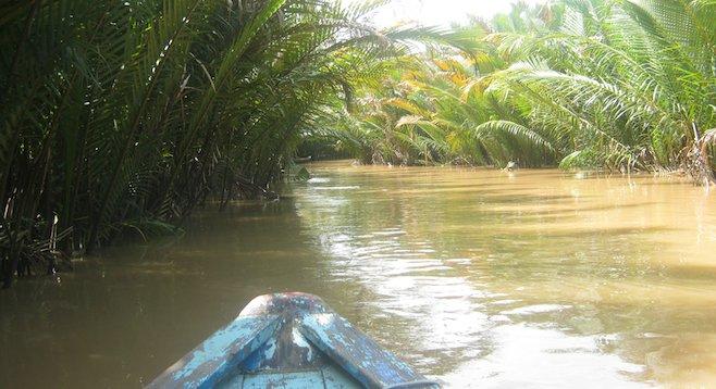 Mekong Delta by boat
