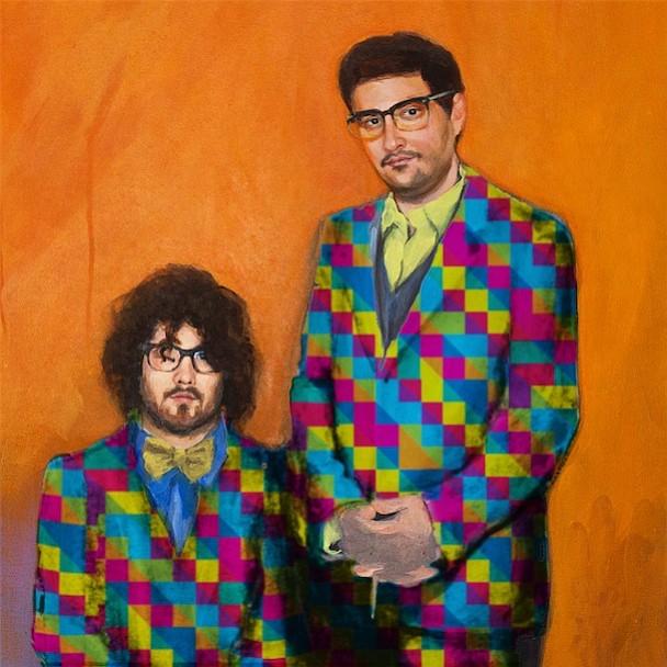 Soda Bar sets up electropop duo Dale Earnhardt Jr. Jr. Wednesday night.