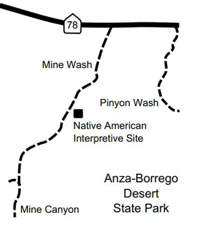 Mine Canyon map