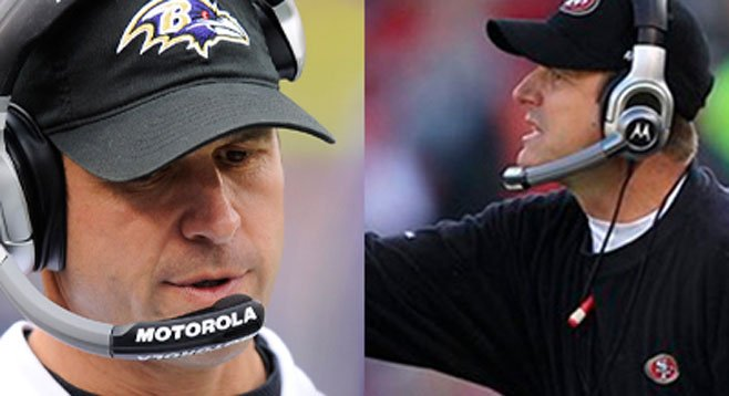 Harbaugh brothers Jim and John brought drama to the playoffs. Let's return the favor...