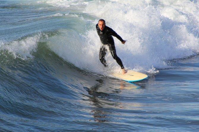 Surfer at OB pier