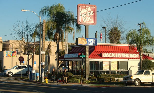 Nearby residents have long complained that this North Park Jack in the Box disturbs the peace of the neighborhood.