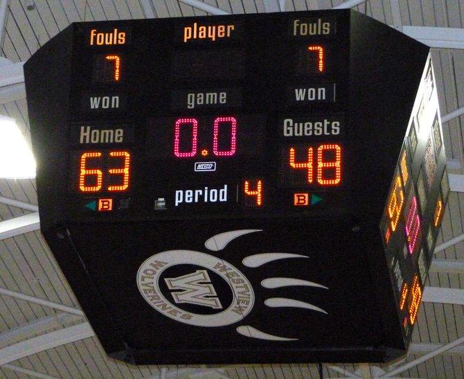 Final Score - Westview 63, Poway 48