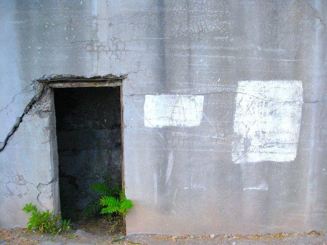 Old doorway, Jerome, AZ