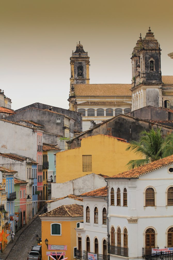 Historic Centre of Salvador de Bahia Brazil.