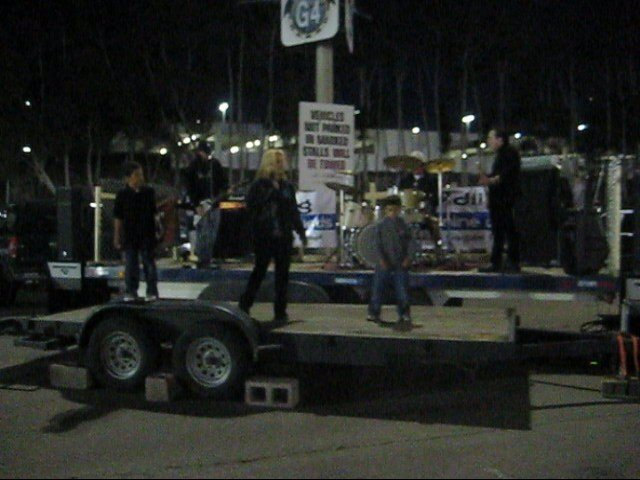 """2011 San Diego sports Arena Drag/Car Races """"Stop Domestic Violence"""""""
