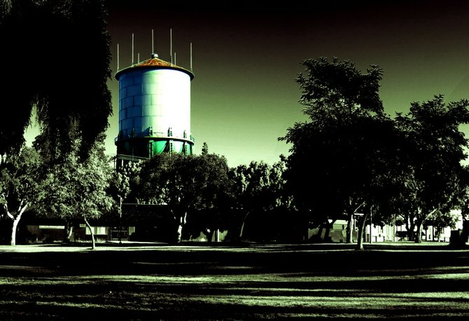 North Park Water Tower.