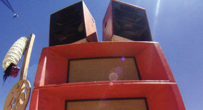 The Ohm Guru sound system will turn up for the cause.