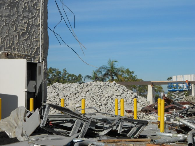 The former Ralph's store, now torn down--on Sports Arena Blvd.