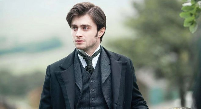 Harry Potter's Daniel Radcliffe is a haunted man in The Woman in Black.