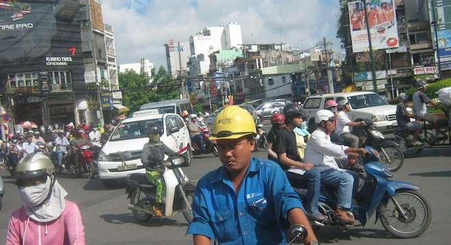 Up close and personal with Ho Chi Minh City's motorbike population