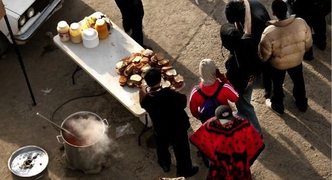 Soup Kitchen Set Up Next to Tijuana River | San Diego Reader