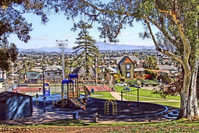 Grant Hill Park. A very small community of San Diego.