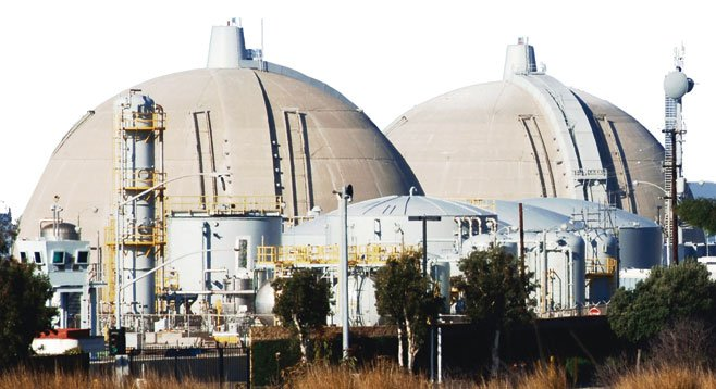 A radioactive steam leak at San Onofre is one of a few problems plaguing Sempra Energy.