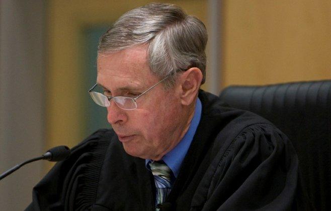 Judge Richard Mills Photo by Nick Morris
