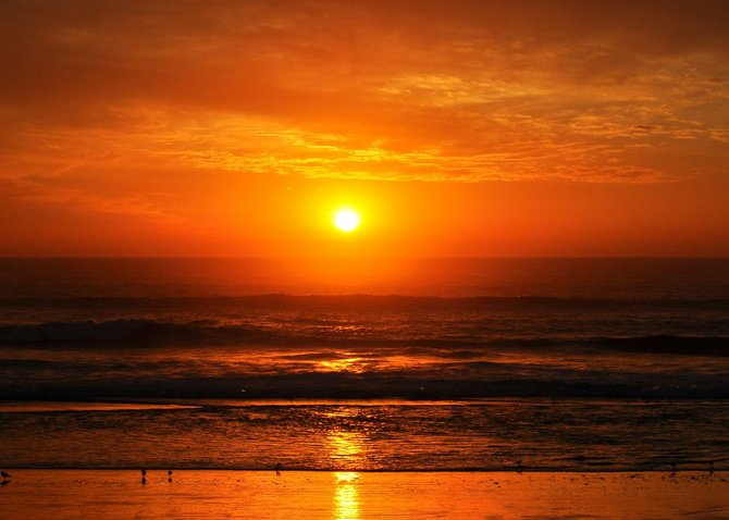 Rosarito Beach Sunset!