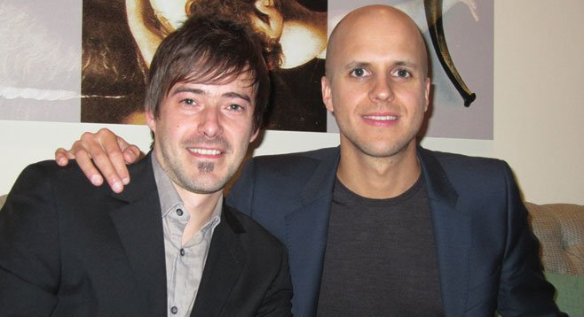 Belgian singer-songwriters Durant and Milow had a SD connection.
