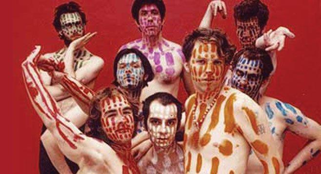 Sac-town dance punk band !!! (Chk Chk Chk) play Casbah Wednesday night.