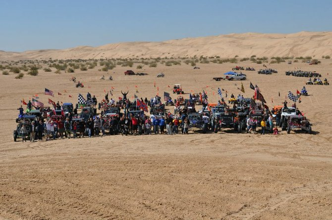 Last Ride of the Season. Over 73 rails, dirt bikes, and quads, with over 100 riders. Largest group ride! Buttercup 2/18/2012