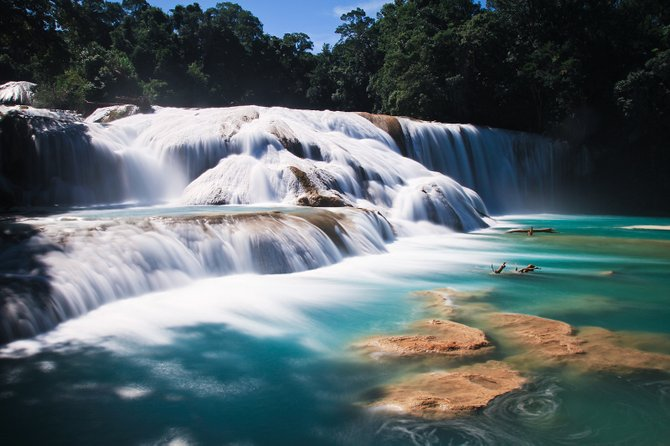 Agua Azul in the beautiful Mexican state of Chiapas