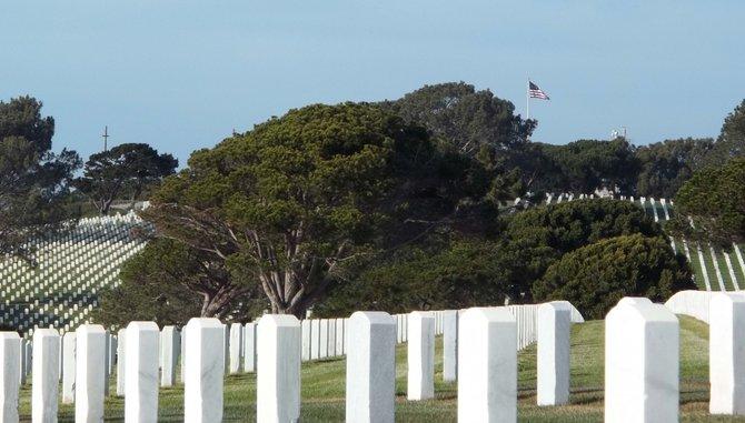 Fort Rosecrans National Cemetery.    February 20, 2012