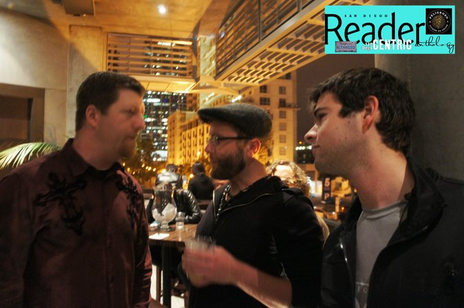 Kent Georgi of ATSD, and our very own Chad Deal with Reader Andy.