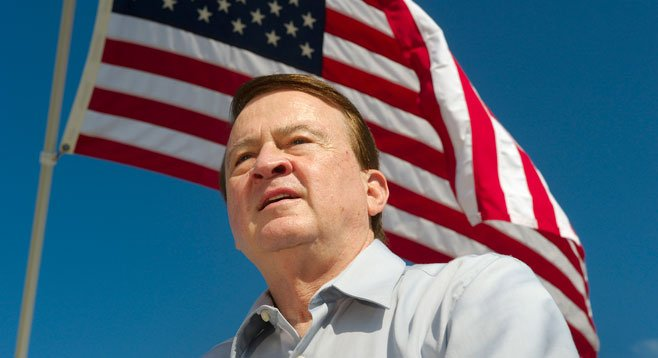 Ted Hilton is pushing for an Arizona-style immigration law  in California.