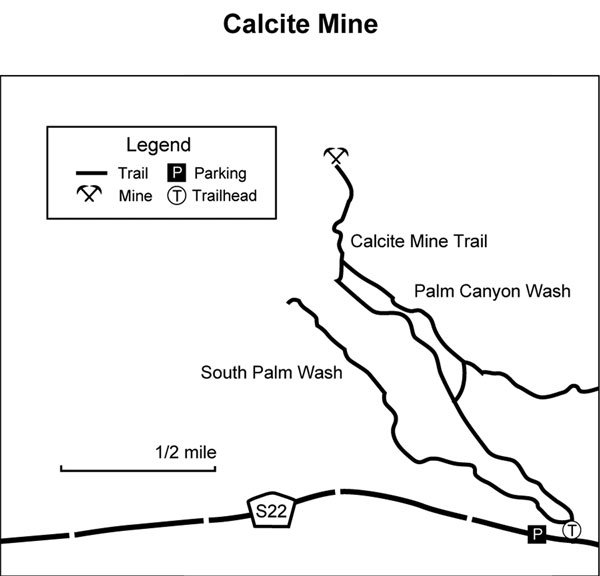 Calcite Mine Map