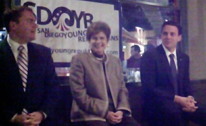 Carl DeMaio, Bonnie Dumanis, Nathan Fletcher