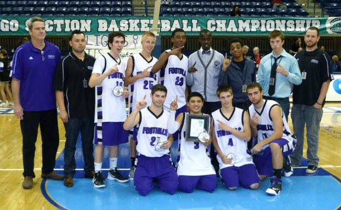 2012 Division V Champions - Foothills Christian Knights