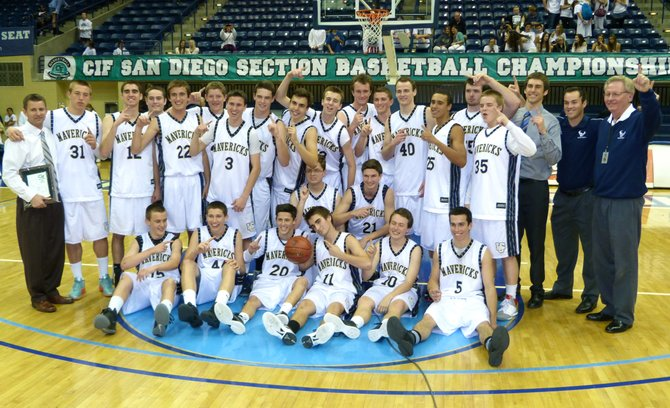 2012 Division II Champions - La Costa Canyon Mavericks