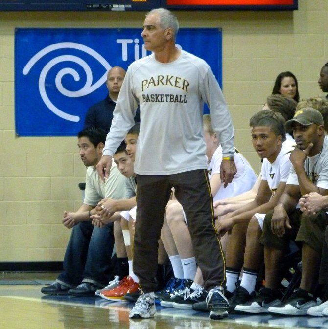 Francis Parker head coach Jim Tomey
