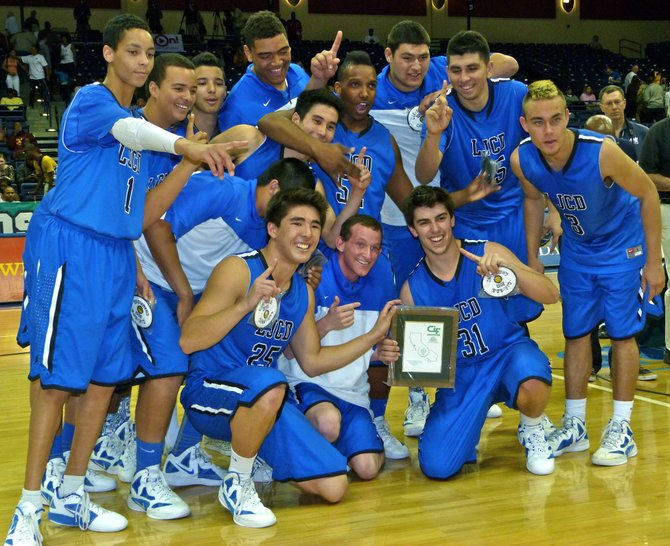 2012 Division IV Champions - La Jolla Country Day Torreys