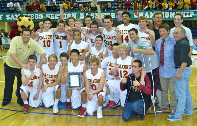 2012 Division I Champions - Torrey Pines Falcons