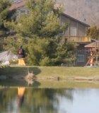 Peaceful setting of West Virginia's New Vrindaban Community