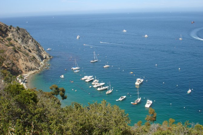 Beautiful Day in Catalina Island.